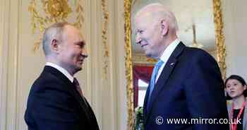 Biden says Cold War 'last thing Putin wants' but is not ready 'to lay down arms'