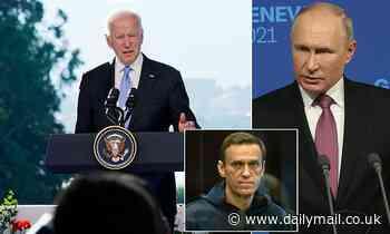 Biden warns Putin there will be 'devastating consequences' if Alexei Nalavny diess