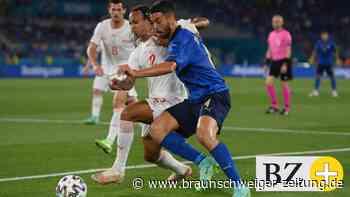 Live! 1:0! Italien zwingend überlegen - und in Führung