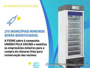 FIEMG doa câmaras frias para 125 municípios mineiros - Patos em Destaque