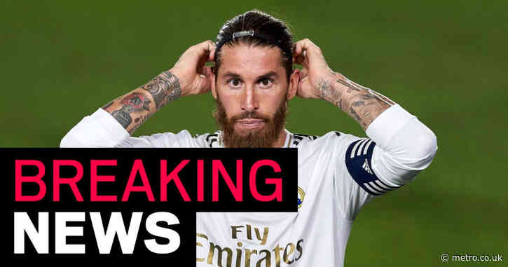 Sergio Ramos to leave Real Madrid on free transfer after 16 years at the Bernabeu