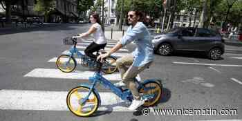 Des vélos en libre-service dès ce jeudi à Antibes - Nice-Matin