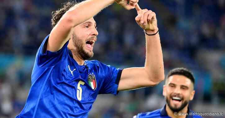 Italia-Svizzera 1-0, fine primo tempo: Locatelli in gol al 25′, azzurri in controllo. Chiellini ko: problemi a una coscia, c'è Acerbi – Il live