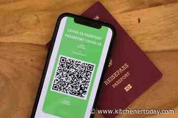 Digital vaccine passports raise concerns as Canada-U.S. border announcement looms - KitchenerToday.com