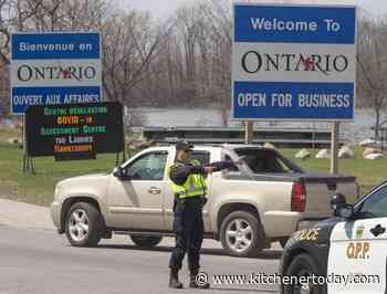 Ontario border rules limiting travel from Quebec, Manitoba expire today - KitchenerToday.com