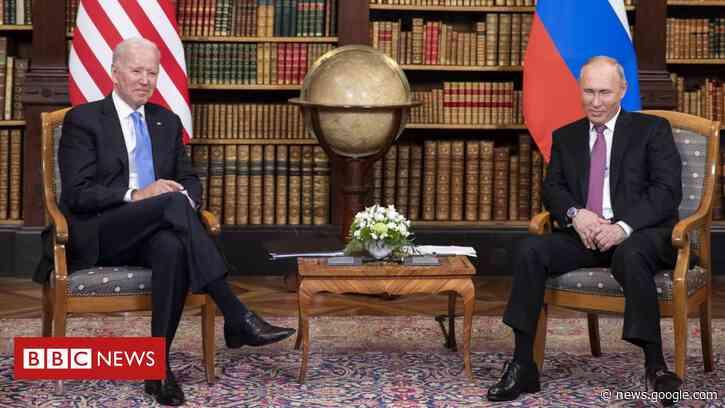 Biden and Putin praise Geneva summit talks but discord remains - BBC News