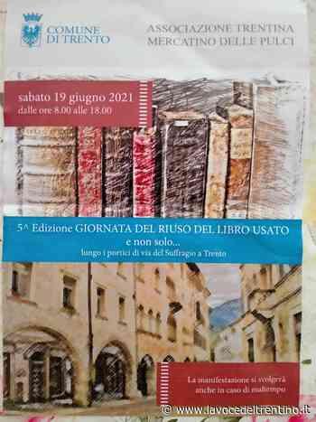 A Trento ritornano i libri usati lungo i portici di via Suffragio - la VOCE del TRENTINO