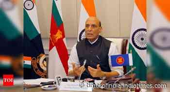 In Chinese minister presence, Rajnath backs free, open SCS