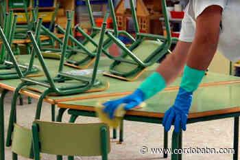 1,74 millones de euros reforzarán la contratación personal de limpieza en 156 centros docentes cordobeses - Córdoba Buenas Noticias
