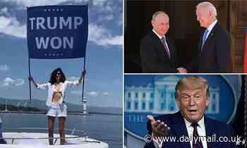 Osama bin Laden's pro-Trump niece protests Joe Biden's Geneva summit with Vladimir Putin