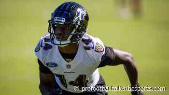 Lamar Jackson: Sammy Watkins is going to make our job a lot easier