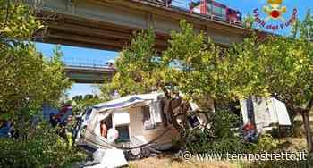Incidente mortale sulla A20, auto vola dal viadotto a Milazzo - Tempo Stretto