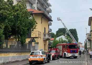Busto Arsizio Soccorsi in casa, bloccata via Milazzo a Busto - varesenews.it