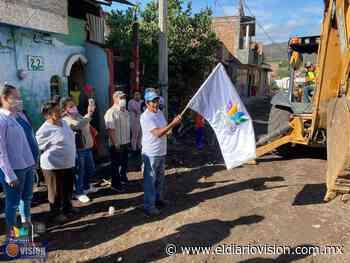 En Zacapu, inician rehabilitación de la calle El Durazno en la comunidad de Ajolotes - El Diario Visión