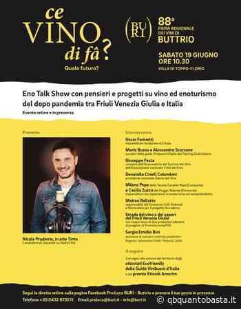 Buttrio- Eno talk show: con Tinto di Decanter Radio Rai - Fabiana Romanutti