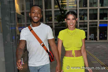 Love Island's Rebecca Gormley and Biggs Chris look loved-up after night out in London... - The Sun