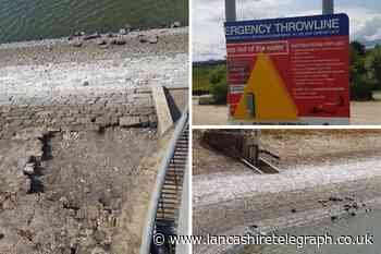 Stones dislodged and thrown into reservoir in 'mindless act of criminal damage'