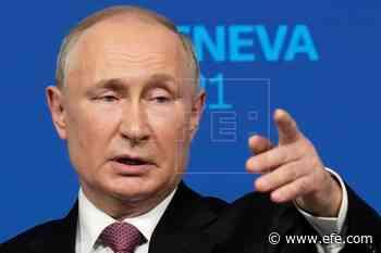 """Putin ve """"destellos"""" de luz tras la cumbre con Biden, pero sin hacerse ilusiones - EFE - Noticias"""