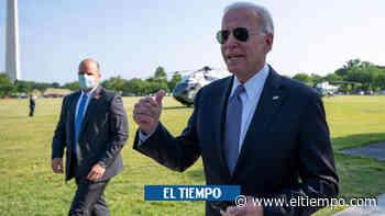 Joe Biden se pierde en una cafetería durante la cumbre del G7 - El Tiempo