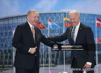 Reunión entre Recep Tayipp Erdogan y Joe Biden en la Cumbre de la OTAN en Bruselas - Agencia Anadolu - Anadolu Agency