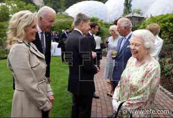 Isabel II recibirá a los Biden al término de la cumbre del G7 - EFE - Noticias