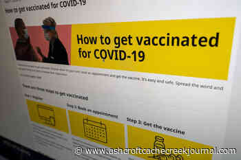 B.C.'s COVID-19 infections, hospitalizations stable for Tuesday - Ashcroft Cache Creek Journal