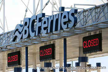 BC Ferries' website crashes in wake of provincial reopening announcement – Ashcroft Cache Creek Journal - Ashcroft Cache Creek Journal