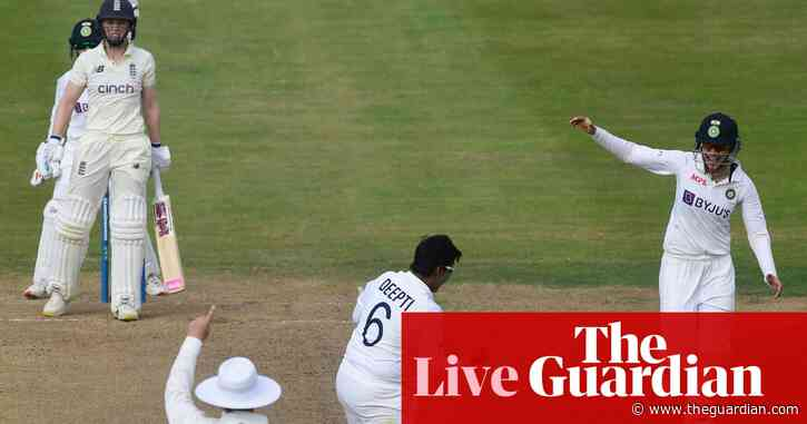 England v India: women's Test match, day one – as it happened