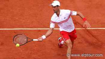 Novak Djokovic Beats Pablo Cuevas For Roland Garros Third-Round Berth - ATP Tour