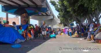 Crece campamento de migrantes 67% en El Chaparral - ELIMPARCIAL.COM