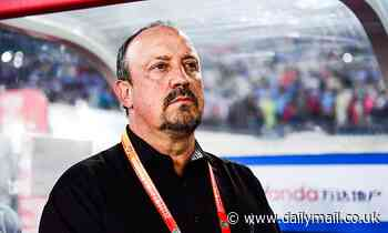 Everton hold further talks with Rafa Benitez over vacant managerial role