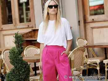 De la playa al cóctel: estos pantalones rosas de Uterqüe son perfectos porque estilizan y además puedes co... - Mujerhoy.com