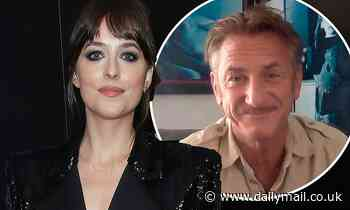 Dakota Johnson, 31, and Sean Penn, 60, making revelations about 'sex and power dynamics' in Daddio