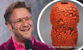 Seth Rogen's handmade ceramic vase sells at a charity auction for almost $10K