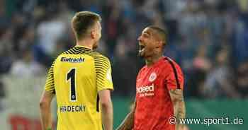 Eintracht Frankfurt, Hradecky: Kevin-Prince Boateng verrät Bier-Geheimnis von Keeper - SPORT1