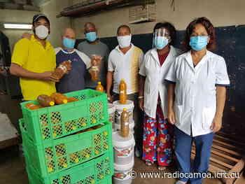 Entregan donación de productos de la Minindustria El Roble al Hospital General Docente Leopoldito Martínez - Radio Camoa
