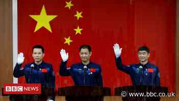 Shenzhou-12: China to launch first crew to new space station
