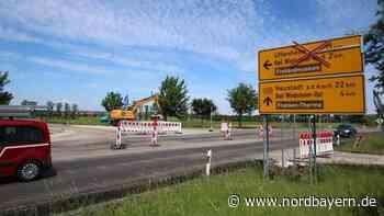 Baustelle auf der B470 noch bis Freitagnachmittag - Nordbayern.de