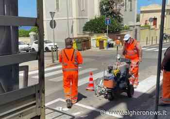 Segnaletica, lavori ad Alghero - Alghero News