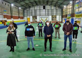 Chornobroff y Sierra inauguraron obras en clubes de barrio de Avellaneda - Diario La Ciudad de Avellaneda