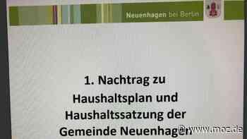 Haushalt und Finanzen: Neuenhagen vermeidet den Stillstand - moz.de