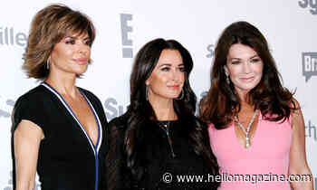 Real Housewives stars Lisa Rinna and Kyle Richards twin in incredible spotted dress