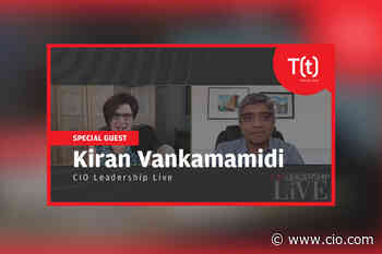 Podcast: CIO Leadership Live with Kiran Vankamamidi, Group VP and CIO, Driscoll's