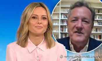 Today: Piers Morgan tells Allison Langdon: 'My wife is the luckiest woman in Britain!' - Daily Mail