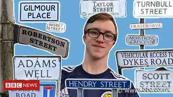 Euro 2020: Scotland fan visits streets named after every player