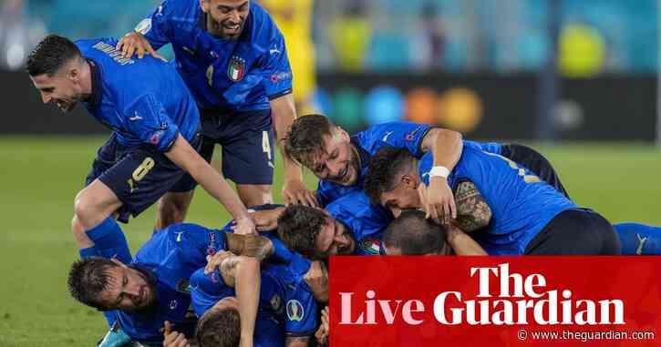 Italy 3-0 Switzerland: Euro 2020 – as it happened