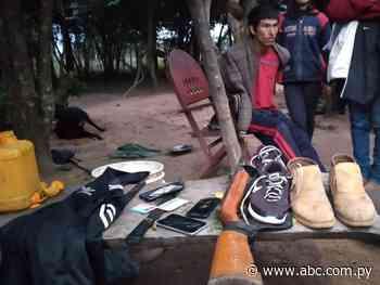 Detienen a tres personas presumiblemente involucradas en un robo en Ybycuí - Nacionales - ABC Color