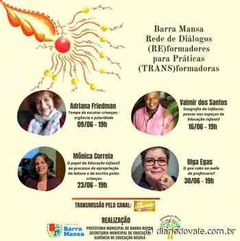 Prefeitura de Barra Mansa realiza Live sobre Geografia da Infância - Diario do Vale