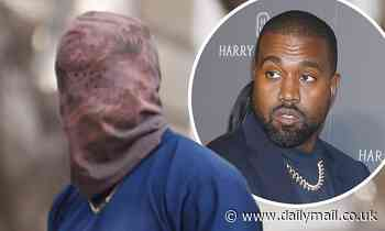 Kanye West accused of trying to 'sabotage' court deposition by wearing full-faced 'Jesus mask' - Daily Mail