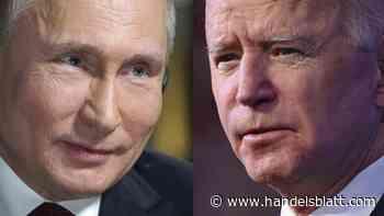 Gipfel in Genf: Putin und Biden senden vor Krisentreffen frostige Signale - Handelsblatt